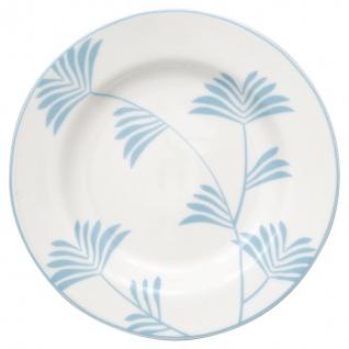 Greengate Teller MAXIME Weiß 15 cm Porzellan Geschirr Kuchenteller Dessertteller