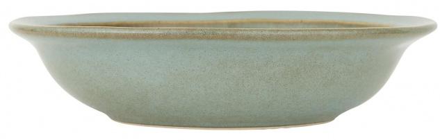 IB Laursen Suppenteller DUNES Blau LIGHT BLUE Keramik Geschirr Teller 20 cm
