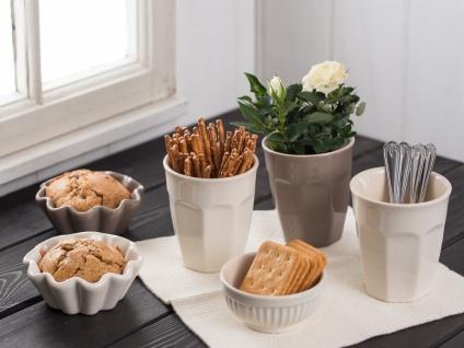IB Laursen MYNTE Cafe Latte Becher Creme Weiß Keramik Geschirr BUTTER CREAM 250m - Vorschau 2
