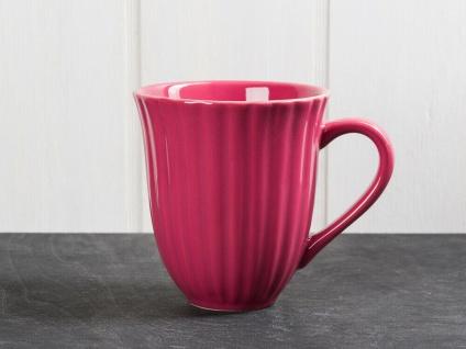 IB Laursen MYNTE Becher Rillen Brombeere BLACKBERRY Keramik Geschirr Tasse 250ml