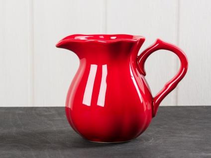 IB Laursen MYNTE Kanne 0.45 Liter Rot Keramik Geschirr STRAWBERRY Krug Karaffe
