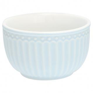 Greengate Schale Mini ALICE Blau Dip Schale Everyday Geschirr PALE BLUE Schüssel