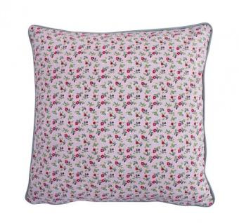 Krasilnikoff Kissenhülle Romantik Blume rosa bunt Kissenbezug Kissen