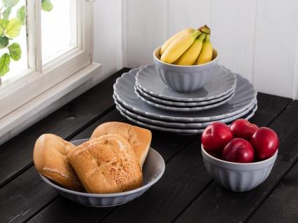 IB Laursen MYNTE Suppenteller Grau FRENCH GREY Keramik Geschirr tiefer Teller - Vorschau 3