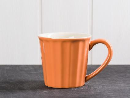 IB Laursen MYNTE Becher Orange PUMPKIN SPICE Keramik Geschirr Tasse 250 ml