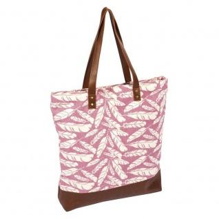 Pad Tasche FEDER Design dusty pink rosa Handtasche Pad Concept Shopper Einkaufst