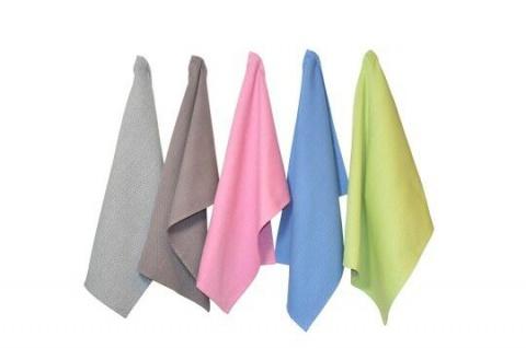 Solwang Geschirrtuch SCHWARZ CREME Küchentuch ORGANISCH Handtuch BIO Baumwolle - Vorschau 4