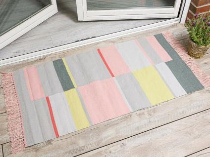 Pad Outdoor Matte UNIQUE Teppich Pink Rosa 72x132 Badematte Pad Concept Fußmatte