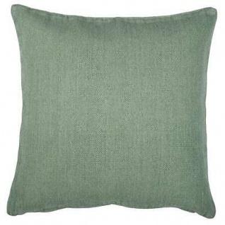 IB Laursen Kissenbezug hellgrün uni Kissenhülle Baumwolle grün 50x50