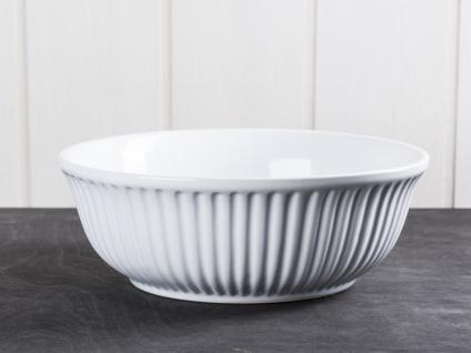IB Laursen MYNTE Servierschale 21 cm Weiß Keramik Geschirr Schüssel PURE WHITE
