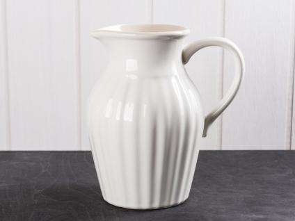 IB Laursen MYNTE Kanne 1.7 Liter Creme Weiß Keramik Geschirr BUTTER CREAM Krug - Vorschau 1