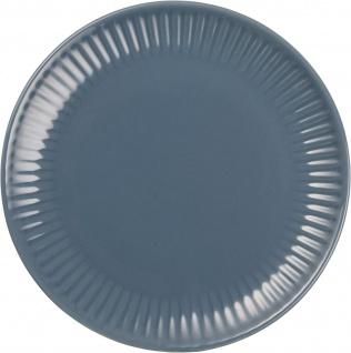 IB Laursen MYNTE Frühstücksteller BLAU Keramik Teller 19 cm CORNFLOWER Geschirr