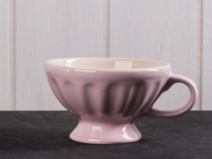 IB Laursen MYNTE Jumbobecher Rosa Keramik Geschirr ENGLISH ROSE XL Tasse 300 ml