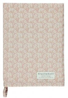 Krasilnikoff Geschirrtuch BERRIES Rosa Weiß Baumwolle 50x70 Geschirrhandtuch