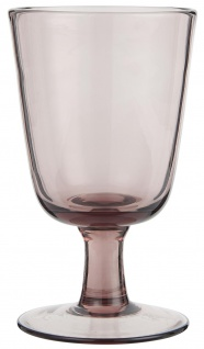 IB Laursen Weißwein Glas Malve 180 ml 8x13 cm Weinglas Glas Trinkglas