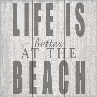 Ambiente Servietten LIFE IS BETTER AT THE BEACH 20 Stck 3-lagig 33x33 Strand