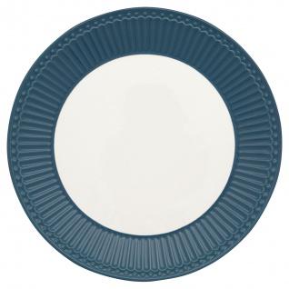 Greengate Teller ALICE Blau 23 cm Kuchenteller Everyday Geschirr OCEAN BLUE