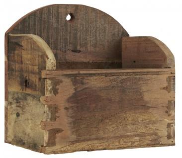 IB Laursen Wandkiste UNIKA 18x26 cm Holzkiste Wandmontage Aufbewahrung Box