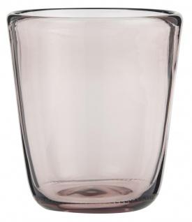 IB Laursen Trinkglas Malve Saftglas 180 ml Glas 8x9 cm Wasserglas
