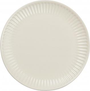 IB Laursen MYNTE Frühstücksteller Creme Weiß Keramik Teller 19 cm BUTTER CREAM