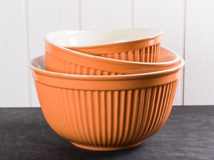 IB Laursen MYNTE Schalensatz Orange 3er Keramik Schüsseln PUMPKIN SPICE Geschirr