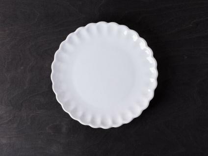 IB Laursen MYNTE Kuchenteller Weiß Keramik Teller 21 cm PURE WHITE Geschirr