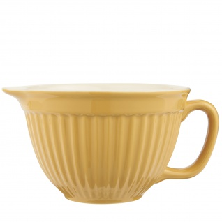 IB Laursen MYNTE Rührschüssel Gelb Keramik Geschirr MUSTARD 1700 ml Schale