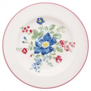 Greengate Teller ROBERTA Rosa 15cm Porzellan Geschirr Kuchenteller Dessertteller