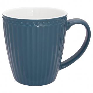 Greengate Becher ALICE Blau 400 ml Kaffeebecher Everyday Geschirr OCEAN BLUE
