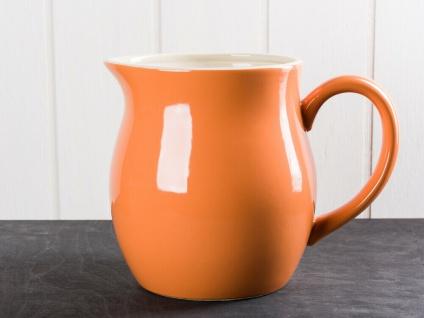 IB Laursen MYNTE Kanne 2.5 Liter Orange Keramik Geschirr PUMPKIN SPICE Krug