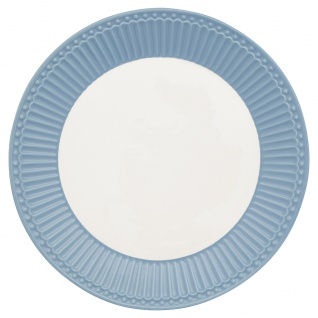 Greengate Teller ALICE Blau 23 cm Kuchenteller Everyday Geschirr SKY BLUE