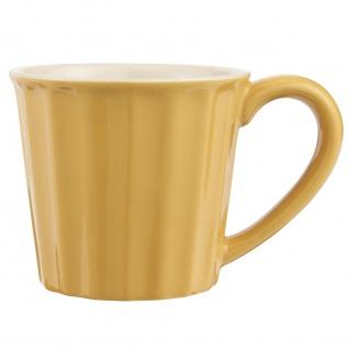 IB Laursen MYNTE Becher Gelb MUSTARD Tasse Keramik Geschirr Kaffeebecher 250 ml