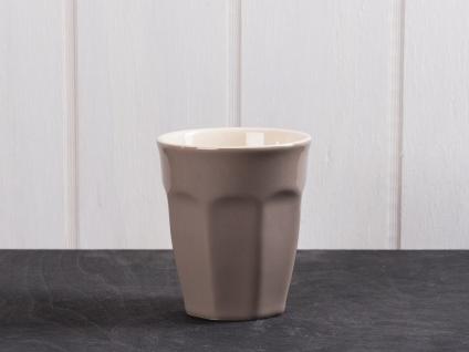 IB Laursen MYNTE Cafe Latte Becher Braun Keramik Geschirr MILKY BROWN 250 ml