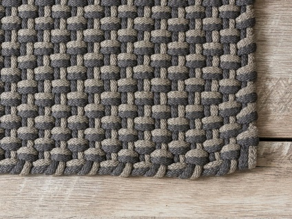 Pad In / Outdoor Matte POOL Grau Beige 92x172 Fussmatte Badezimmermatte Teppich - Vorschau 2