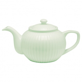 Greengate Teekanne ALICE Grün Kanne 1 Liter Everyday Geschirr Teapot PALE GREEN