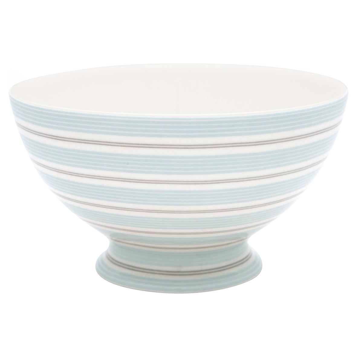 Greengate Schale Tova Blau Weiss Streifen Porzellan Geschirr Suppenschale 500 Ml Kaufen Bei Wohnhaus Welten