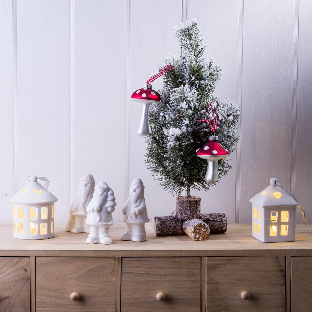 Weihnachtsdeko Led Fenster.Tannenbaum Schmuck Haus Mit Led Licht Rund Weihnachtsdeko Fenster Deko