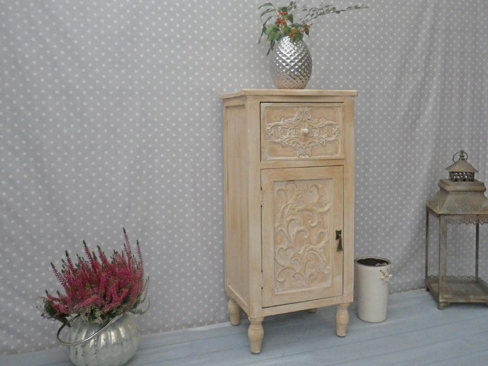Kommode Adele Schrank Nachtschrank Romantik Deko Mit Ornament
