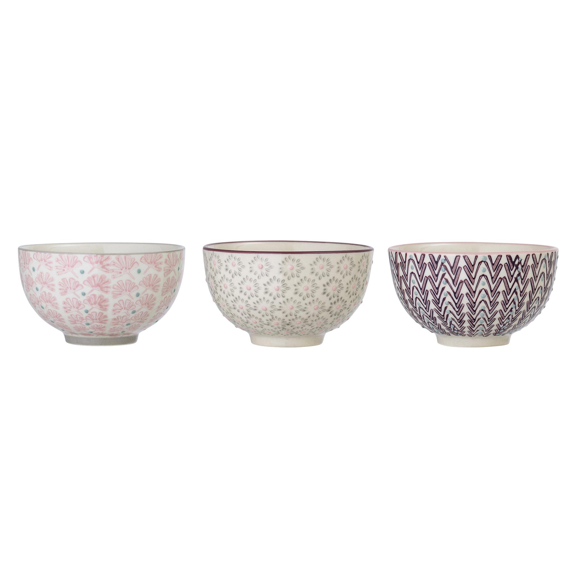 Bloomingville Schale Maya 3er Set Keramik Schussel 350ml Geschirr Muslischale Kaufen Bei Wohnhaus Welten