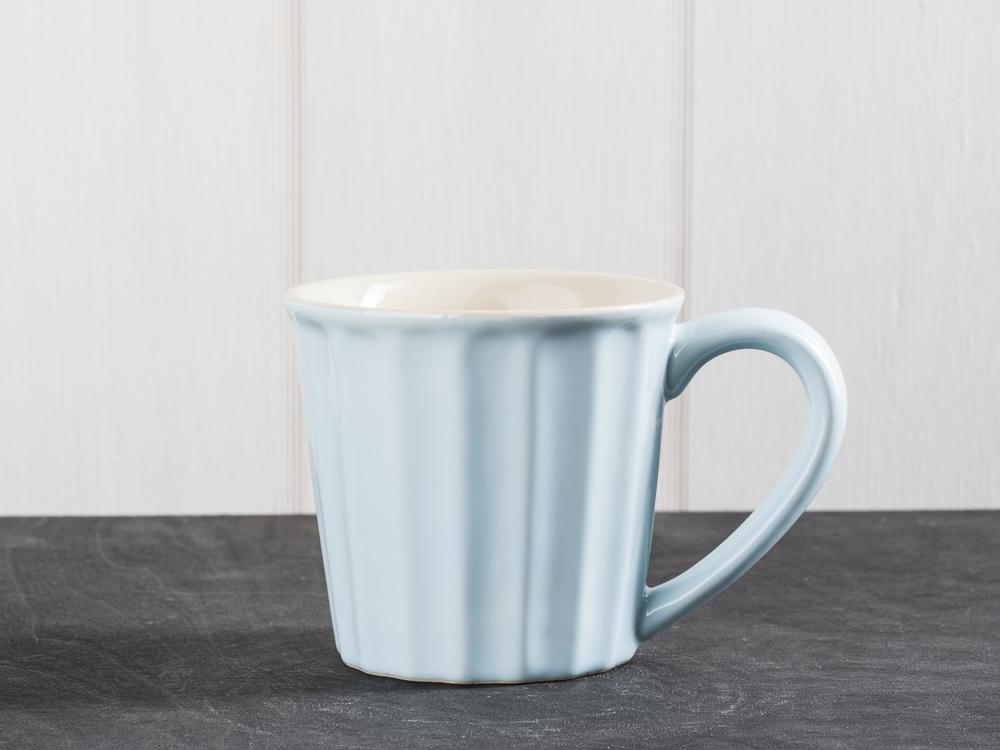 Wonderful IB Laursen Mynte Becher hellblau Stillwater Tasse Keramik blau KI-35