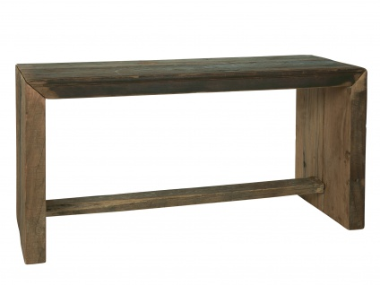 IB Laursen Bank UNIKA Holz 33x90 cm Sitzbank Unikat sehr stabil und schwer