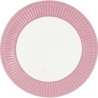 Greengate Teller ALICE Rosa 26.5 cm Essteller Everyday Geschirr DUSTY ROSE
