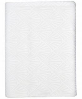 Greengate Tischdecke CELINE Weiß Baumwolle 150x350 cm Tischdeko Hochzeitsdeko