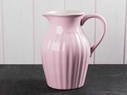 IB Laursen MYNTE Kanne 1.7 LITER Rosa Keramik Geschirr ENGLISH ROSE Krug Karaffe