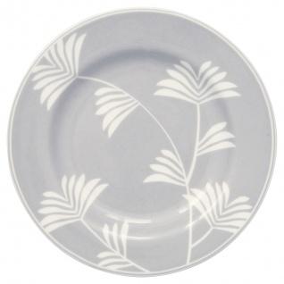 Greengate Teller MAXIME Grau 15 cm Porzellan Geschirr Kuchenteller Dessertteller