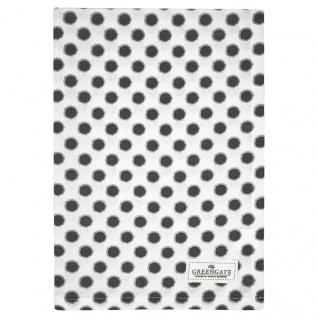 Greengate Geschirrtuch SAVANNAH Weiß mit Punkten Baumwolle 50x70 cm Küchentuch
