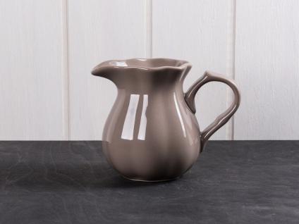IB Laursen MYNTE Kanne 0.45 L Braun Keramik Geschirr MILKY BROWN Krug Karaffe