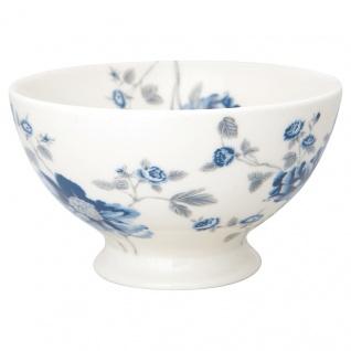 Greengate Schale CHARLOTTE Weiß Blumen Porzellan Geschirr Suppenschale 500 ml