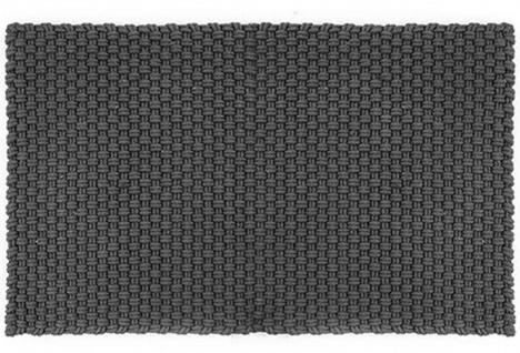 Pad Outdoor Teppich UNI Stone Grau 170x240 cm Badezimmer Matte Design Badematte