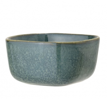 Bloomingville Schale AIME Blau Keramik Geschirr Schüssel Müslischale Snackschale